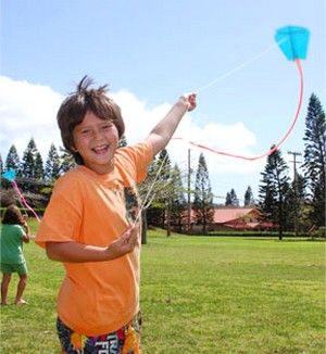 How to make paper kites from one sheet of paper, or 20 kites for 20 kids in 20 minutes.