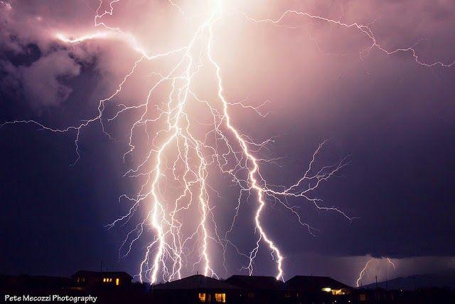 Desert Lightning by Pete Mecozzi