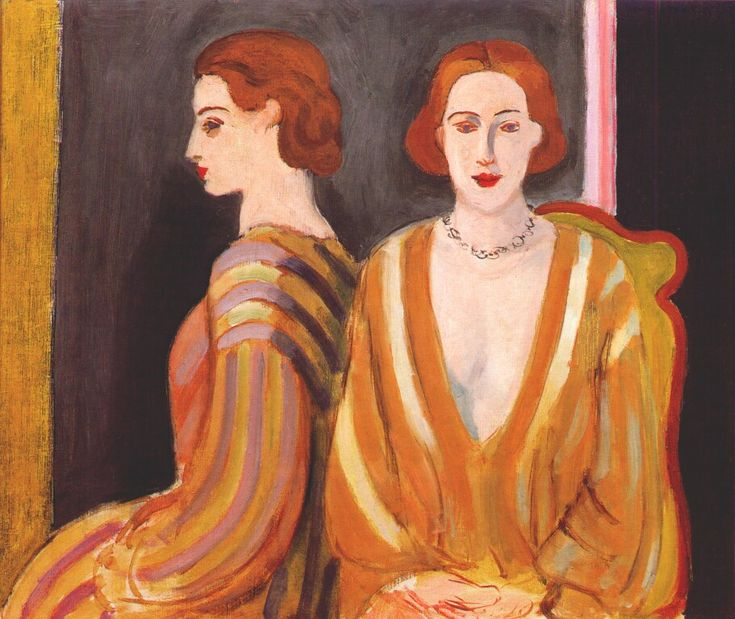 The Reflection by Henri Matisse, 1935