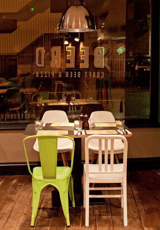 Beerd, Bristol     The chair combination