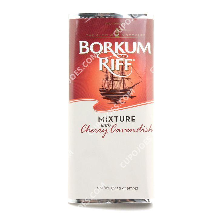 Borkum Riff Mixture Cherry Cavendish 1.5 Oz Pouch - CupOJoes.com