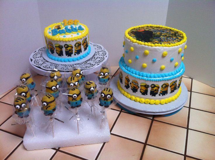 Minion Birthday Cakes Pinterest