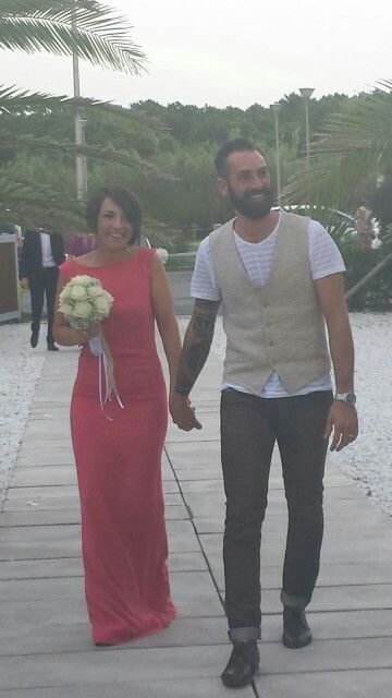 My wedding  on the beach