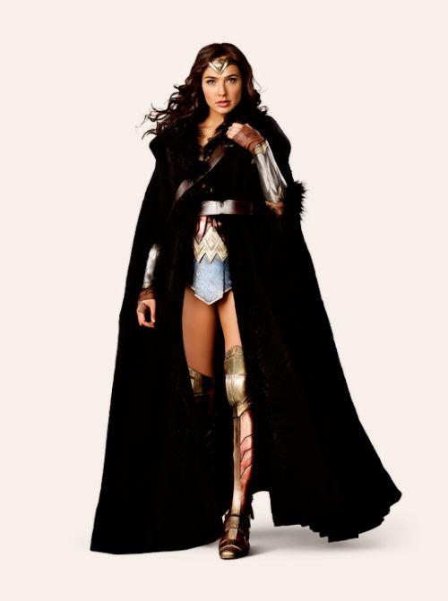 ★➚↫_Gal Gadot as Diana Prince and Chris Pine as Steve Trevor in Wonder Woman (2017).★➚↫_Wonder Woman_ ↬★➘