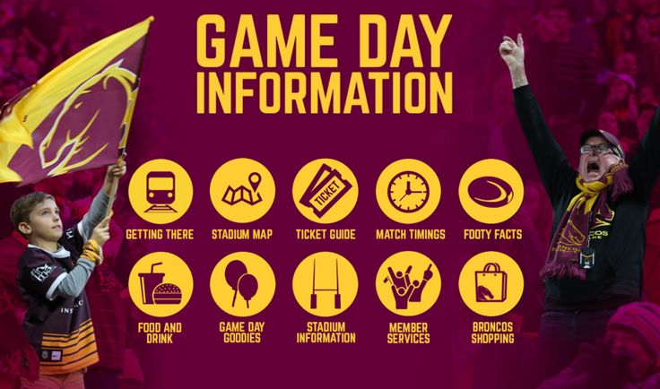 Clean fan experience info from Broncos NRL http://www.broncos.com.au/tickets/info-for-game-day.html?utm_source=Membership+-+Fan+Mail&utm_campaign=9a9b893570-FM_2406_Thurs_Rd43_24_2016&utm_medium=email&utm_term=0_100ee30345-9a9b893570-35373141