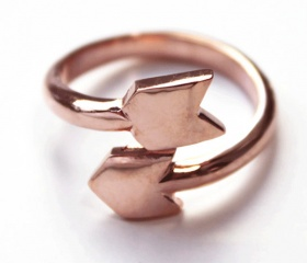 Arrow Ring |Pinned from PinTo for iPad|
