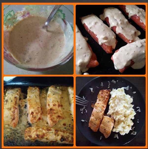 Σολομός με σάλτσα #solomos #cookpadgreece
