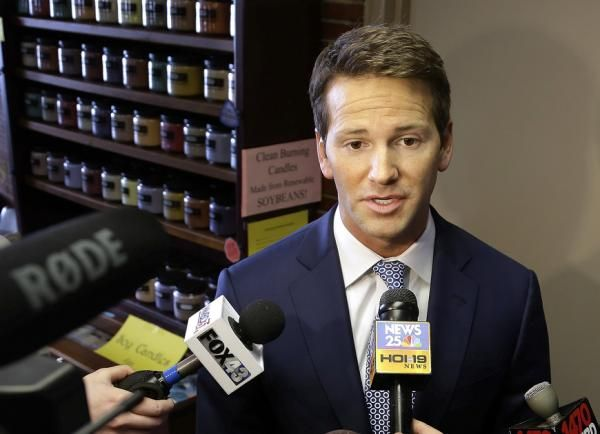 CHICAGO (AP) — A watchdog group on Monday filed a complaint against Illinois Republican U.S. Rep. Aaron Schock over his home sale to a campaign donor.