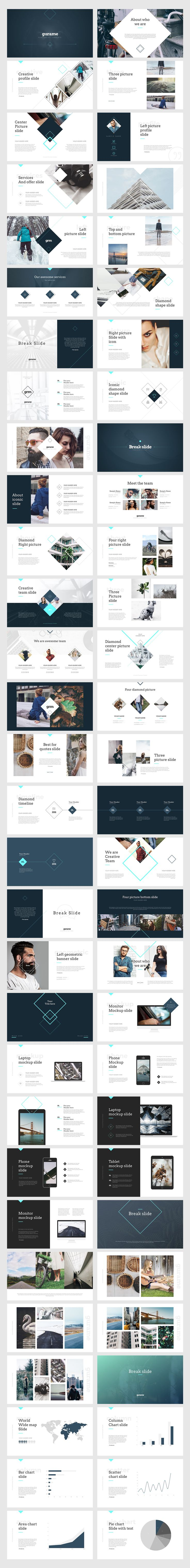 The 25 best powerpoint animation ideas on pinterest gurame powerpoint template by angkalimabelas on creativemarket toneelgroepblik Image collections