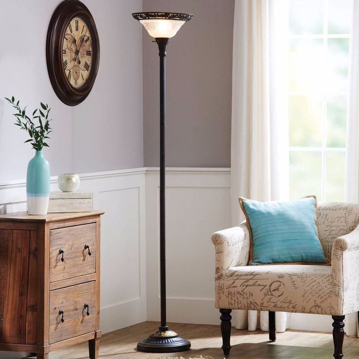Better Homes And Gardens Victorian Floor Lamp Add Unique Style Bronze Finish New #BetterHomesAndGarden #VictorianStyle