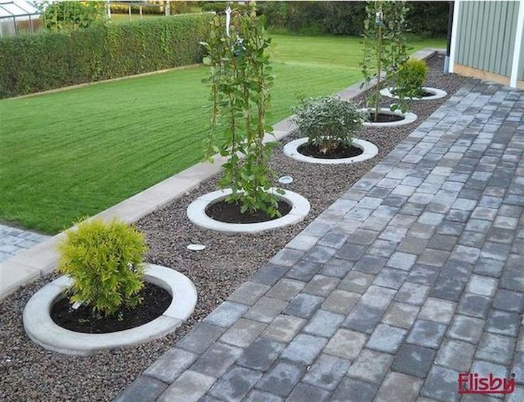 77 Beautiful Garden and Backyard Gravel Garden Desig …  77 Beautiful Garden and Backyard Gravel Garden Design Ideas  #design #garden #backyard #ideen #lovely