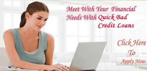 #quickbadcreditloans Get Speedy Freedom For Uninvited Expenses With Effective Manner!
