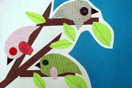 spring birds spring art and crafts pinterest
