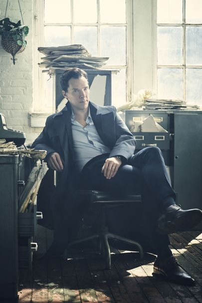 BRITISH GQ ~ Benedict Cumberbatch interview about DOCTOR STRANGE, SHERLOCK, and more. November 2016.