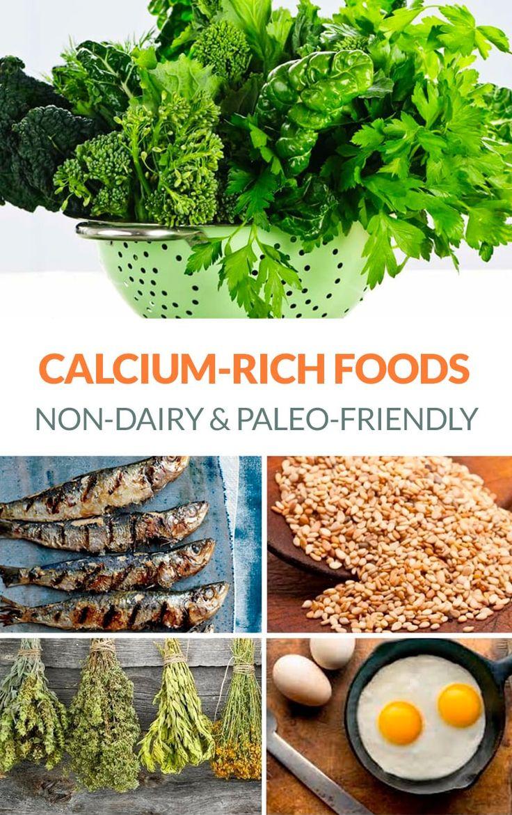 CalciumRich Foods (DairyFree Options) Calcium rich