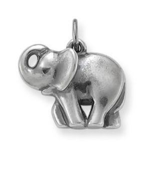 Elephant Charm: James Avery