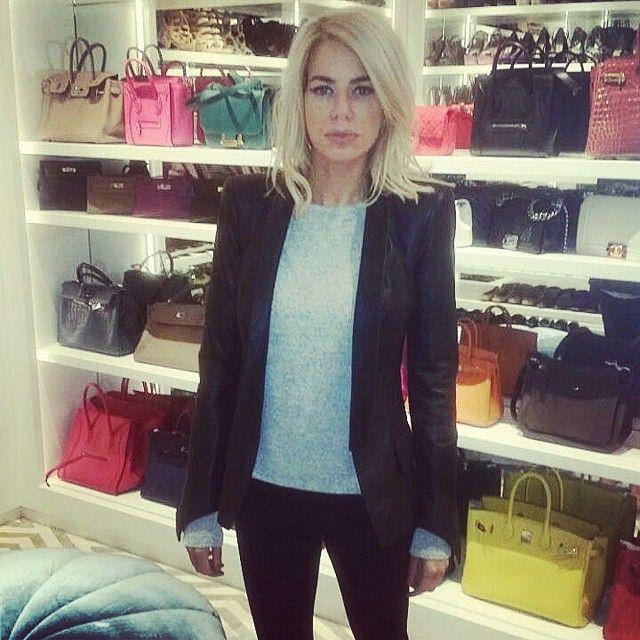 Caroline Stanbury.. Alegra jacket + LNA top..