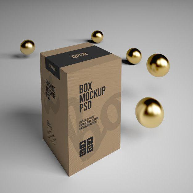 Download Product Packaging Paper Box Mockup Box Mockup Paper Box Pink Jewelry Box