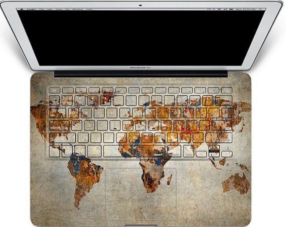 macbook keyboard decal mac pro retina 13 keyboard decal cover macbook decals air map apple decal sticker laptop macbook decal keyboard skin on Etsy, $23.40 AUD