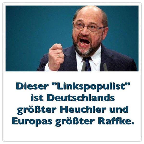 Der Raffke Martin Schulz!