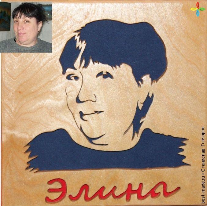 Резная шкатулка с портретом , | Bestmade - изделия ручной работы