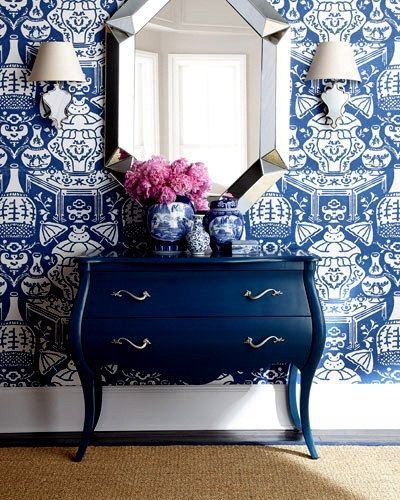 best 25 blue and white wallpaper ideas on pinterest powder room wallpaper toile wallpaper and wallpaper wallpapers