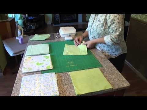 Rag Quilting Made Easy/Baby Rag Quilt Video - YouTube ------------------------ On to do list-TD.