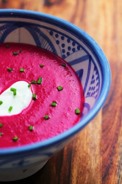 Storesøsters Kjøkken: Rødbetsuppe Med Matyoghurt