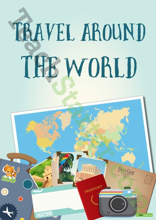 Geography Classroom Decor : Around the world classroom theme pack teaching resource