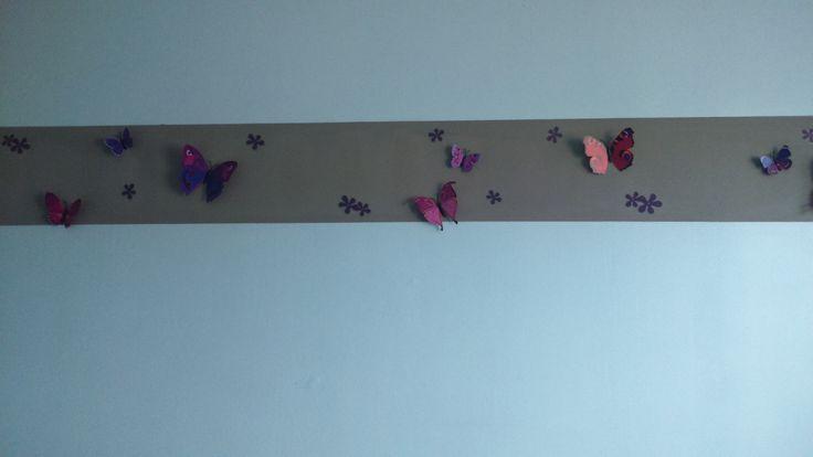 3D vlinders! Gekocht bij alie express
