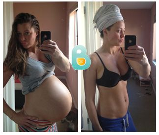 Mom of Twins Avoids Post Pregnancy Belly Pooch