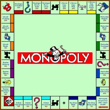 Monopoly. Dit spel is altijd leuk om te spelen. Nog steeds spelen we dit met vrienden.