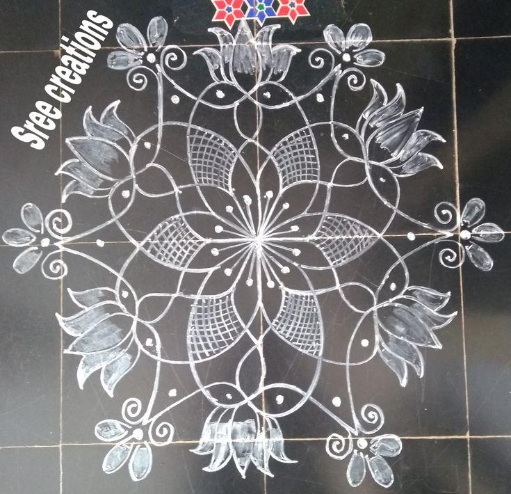 Pin by Sreelakshmi on My rangoli designs in 2020 Rangoli