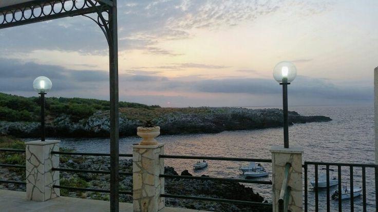 Porto badisco Salento