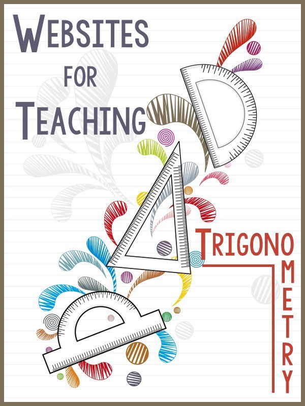 best trigonometry ideas trig identities sheet useful list of websites devoted to teaching trigonometry and precalculus nice resource for both students