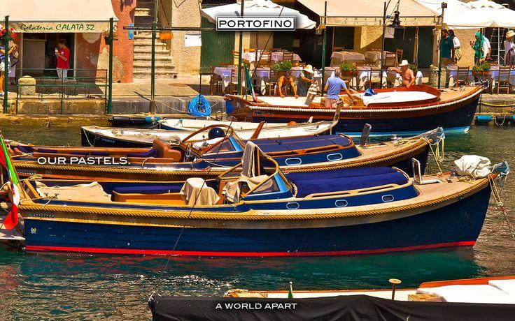 Portofino Old Boats Italy