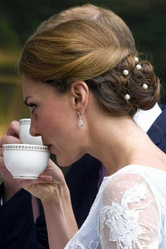 Wedding Hairstyle Kate Middleton : 28 best tbi ode to kate middletons hair images on pinterest