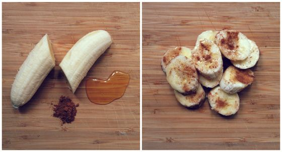 5 Quick & Healthy Snacks | Banana + Honey + Cinnamon