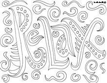 Health Coloring Pages