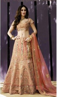 Salmon Color Silk A Line Style Designer Lehenga Choli | FH513678228 #heenastyle, #designer, #lehengas, #choli, #collection, #women, #online, #wedding , #Bollywood, #stylish, #indian, #party, #ghagra, #casual, #sangeet, #mehendi, #navratri, #fashion, #boutique, #mode, #henna, #wedding, #fashion-week, #ceremony, #receptions, #ring , #dupatta , #chunni , @heenastyle , #Circular , #engagement