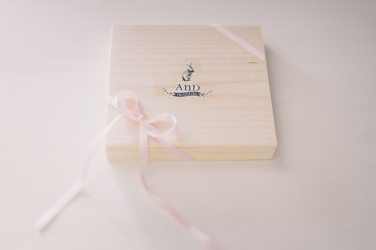 CD or DVD packaging for weddings and events -  handmade wood box  AnDphotography