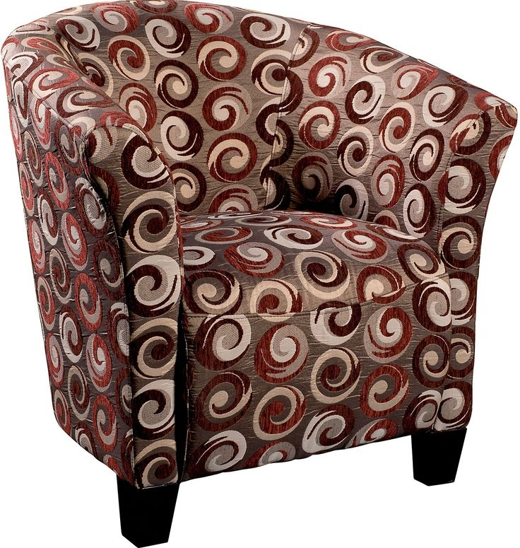 Wyatt Accent Fabric Tub Chair   The Brick