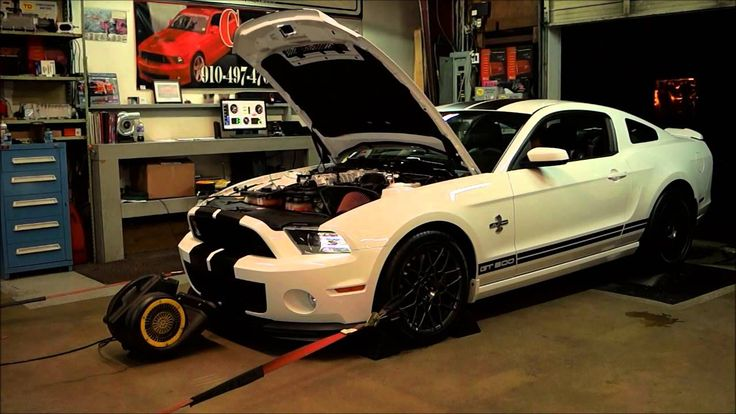 2014 GT500 BEFORE AND AFTER PULLEYS