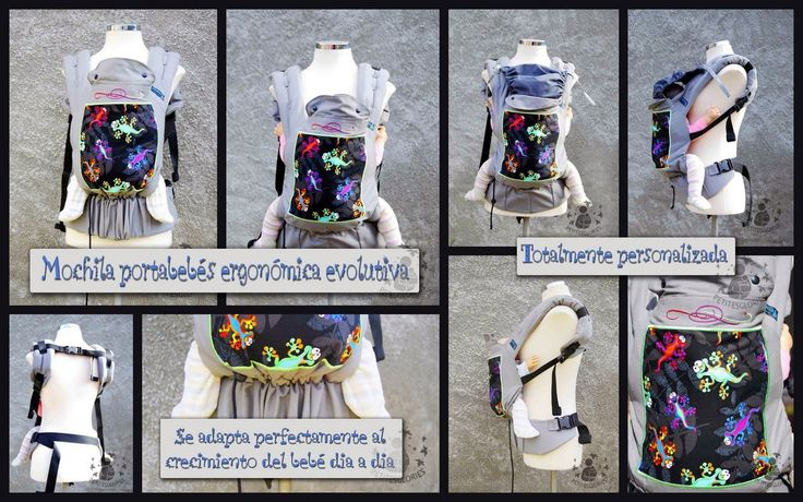Petitesglories: MOCHILAS PORTABEBÉS ERGONOMICAS, portabebés evolutivo, personalizada, personalizado, bordado, artesanal.