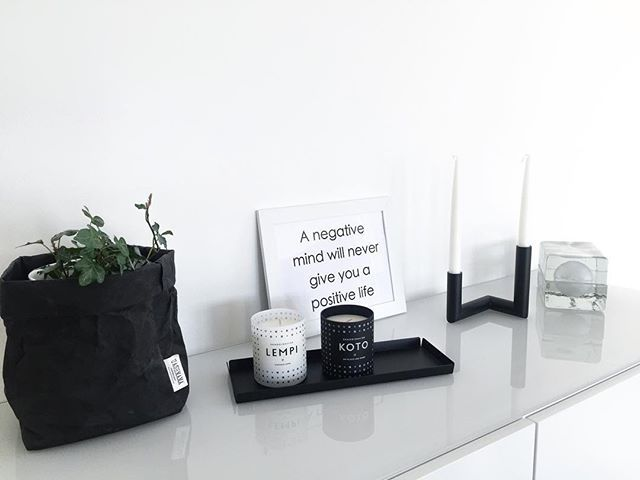 A negative mind will never give you a positive life. #quote #nur_design #skandinavisk #uashmama #blocklamp #inredning #blackandwhitehome #svartvitahem #mustavalkoinenkoti #scandinavianhome #scandicinterior #nordichome #roominterior #nordicinspiration