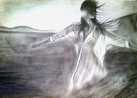 sunshine girl...     pencil sketch by rainNsunshine