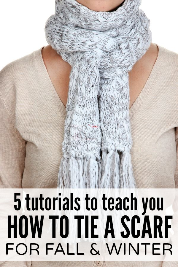 1000 ideas about tie a scarf on scarf ideas