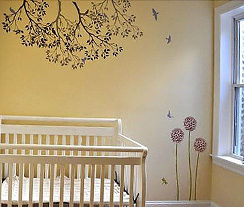 7 best images about Wall Painting Stencils on Pinterest | Cats, Tile ...