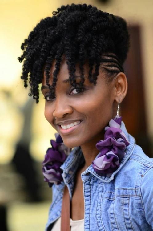 Remarkable 1000 Images About Natural Hair Styles No Extensions On Pinterest Short Hairstyles For Black Women Fulllsitofus