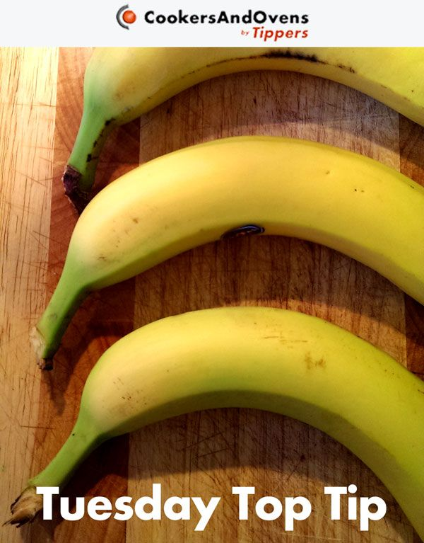 This week's Tuesday Top Tip shows you how to keep your bananas fresh for longer. I'm sure nearly all of you know that you should keep bananas away from other fruit, but did you also know that you should separate your bananas from the bunch?